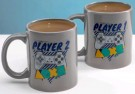 Playstation PSX Player One & Player Two Mug Set