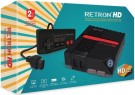 RetroN 1 HD Gaming Console for PAL/NTSC NES Cartridges (USB Charge Cable Inc.) (Black) /Retro