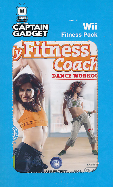 My Fitness Coach Dance Workout Pack Nintendo Wii Game Eveikals Lv