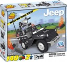 Cobi - Construction Game Bricks Jeep MB Wilys Police Swat CO1531