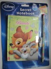 Disney - Secret Notebook Bambi 53432-4