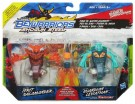 Hasbro - Beyblade Shogun Steel Beywarriors Fire VS. Water Element 2pk A2469 - ir veikalā