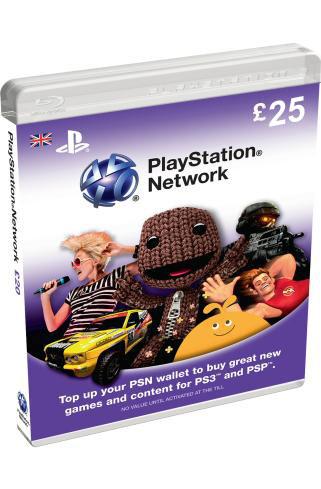 Playstation Network Card £25 (PSN 25 GBP) (PS3 / Vita / PS4)  45.99