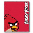 Angry Birds Red Bird Fleece Blanket -