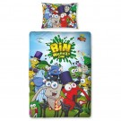 Bin Weevils - Mulch Single Panel Duvet Set - bērnu gultas veļa