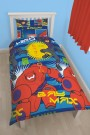 Disney Big Hero Six Hiro Single Rotary Duvet Set - bērnu gultas veļa