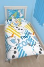 Disney Frozen Chillin Single Rotary Duvet Set - bērnu gultas veļa