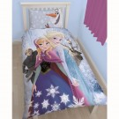 Disney Frozen Glacial Single Panel Duvet Set - bērnu gultas veļa