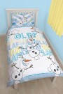 Disney Frozen Olaf Single Rotary Duvet Set - bērnu gultas veļa
