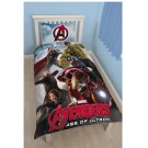 Disney Marvel Avengers Age of Ultron Single Panel Duvet Set - bērnu gultas veļa