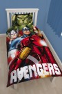 Disney Marvel Avengers Shield GID Single Panel Duvet Set - bērnu gultas veļa