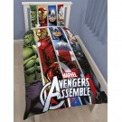 Disney Marvel Avengers Team Single Panel Duvet Set - bērnu gultas veļa