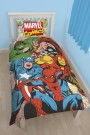 Disney Marvel Comics Justice Single Panel Duvet Set - bērnu gultas veļa