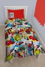 Disney Marvel Comics Justice Single Rotary Duvet Set - bērnu gultas veļa