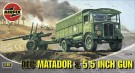 Airfix - AEC Matador And 5.5 Gun 1:76 A01314