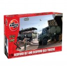Airfix - Bedford QLT And Bedford QLD Trucks 1:76 Scale A03306