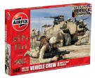 Airfix - British Forces Vehicle Crew Figure Model Kit 1:48 A03702