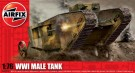 Airfix - WWI Male Tank 1:76 Scale Series A01315