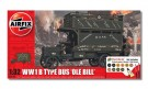 Airfix - Wwi Old Bill Bus 1:32 Scale A50163