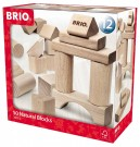 Brio - Natural Wood Block Set (50 Pieces) 30113