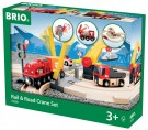 Brio - Rail and Road Crane Set 33208