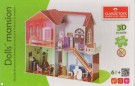 Classictoys - Dolls Mansion Puzzle 3D Educational Toys 00649