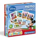 Clementoni - Memo Games The House Of Mouse 11757
