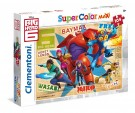 Clementoni - Puzzle 104 Pieces Max The New Heroes Big Hero 6 23672