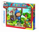 Clementoni - Puzzle 104pcs Mike Knight 27896