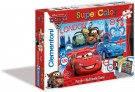 Clementoni - Puzzle 2x20 pz Cars 2 Puzzle & Multimedia Game 24719