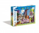 Clementoni - Puzzle Maxi Lady and the Tramp: Romantic night 24 Pieces 24421