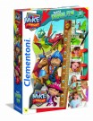 Clementoni - Puzzle Mike The Knight, Maxi Puzzle 30 Pieces Double Function 20307