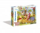 Clementoni - Puzzle Winnie the pooh: Bow and arrow Maxi 24 Pieces 24408
