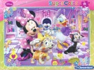 Clementoni - Supercolor Puzzle Cornice Minnie 22219-2