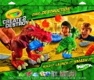 Crayola - Create 2 Destroy Dino Destruction Kit-Metropolitan Mayhem/ Sold as a pack of 1 03-4108