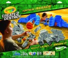 Crayola - Create 2 Destroy Fortress Invasion Kit-Ultimate Destruction 03-4115