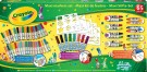 Crayola - Felt-Tipped Pens Box of 60 Felt-Tipped Pens and Accessories 58-1301