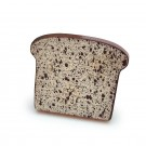 Erzi - Black Bread Slice 13011