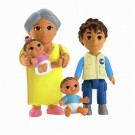 Fisher-Price - Dora The Explorer Playtime Together Family X3400