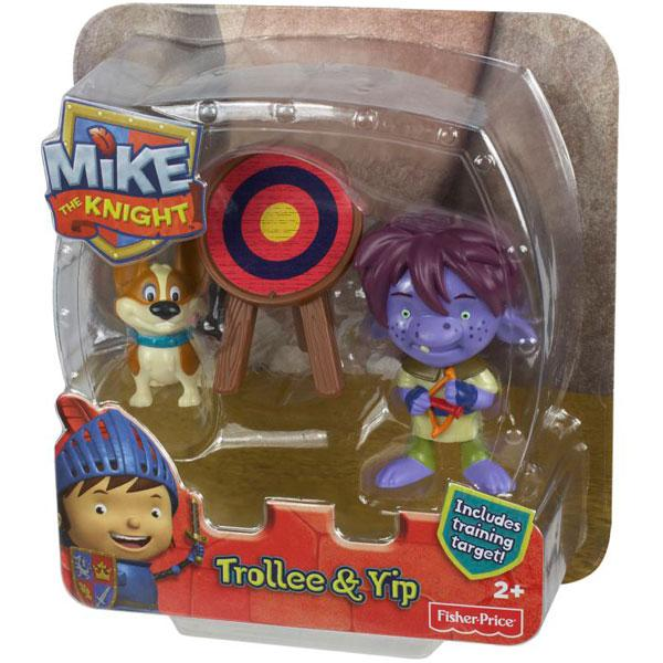 Fisher-Price Mike The Knight figures Trollee and Yip Fisher Price Y8359