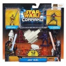Hasbro - Star Wars Command Jedi Duel Set A8945