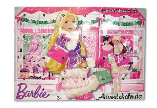 Calendrier Avent Barbie.Mattel Barbie Adventskalender V0433 Eveikals Lv