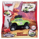 Mattel - Disney Pixar Cars Radiator Springs 500 1/2 Wild Racer Shifty Sidewinder Pullback Vehicle BDF74