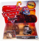 Mattel - Disney Pixar Cars Toon 155 Die Cast Car Referee Pitty with Bell V0677