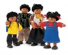 Pintoy - Wooden Doll Family 6594