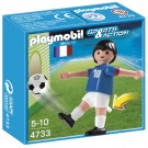 Playmobil 4733 - Sports and Action Soccer Player from France (White)