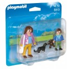 Playmobil 5513 - Mother with School Child Duo Pack 5513