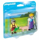 Playmobil 5514 - Country Farm Woman and Boy Duo Pack 5514