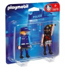 Playmobil 5878 - Duo Pack Policeman With Bandit 5878