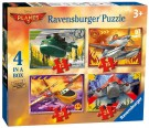 Ravensburger - Disney Planes 4-in-Box Puzzle 7357